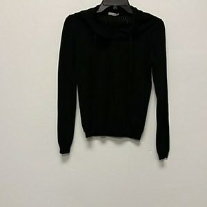 Prada Black Long Sleeve Top Size S